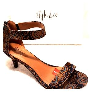 Style & Co Paycee Dress Sanda Heel